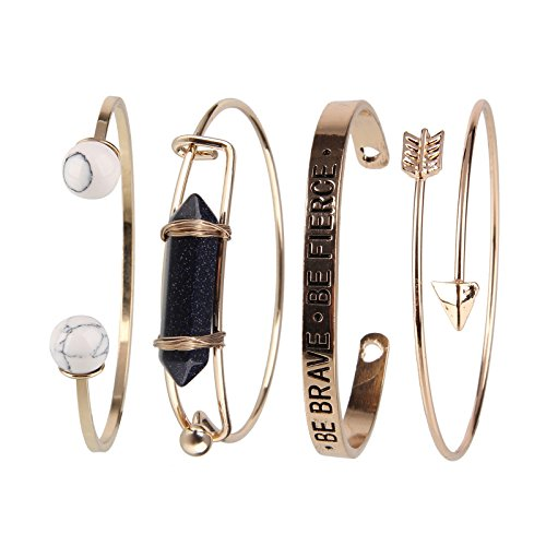 Beauty7 - Fasion Bohemian Stil Armband Ethnisch Armstreifen Bracelet Kuff kits - Modell 010