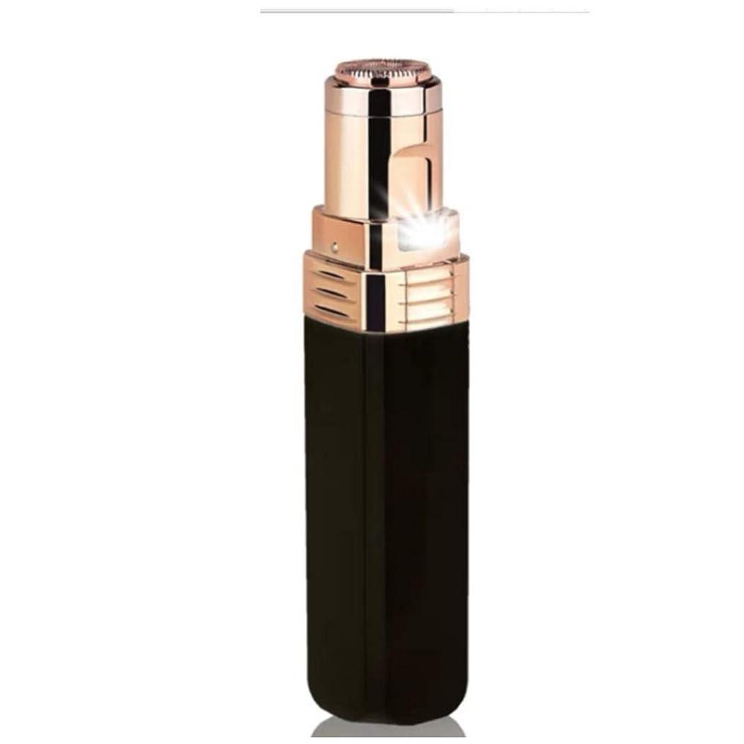 必要性水分枢機卿頬、唇、あご、首、防水、電池式に適した女性の顔の毛の脱毛剤のための女性の顔の毛の除去剤、,Black