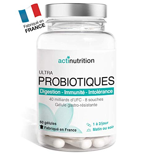 Probiotiques ULTRA Flore Intestinale | 40 à 80...