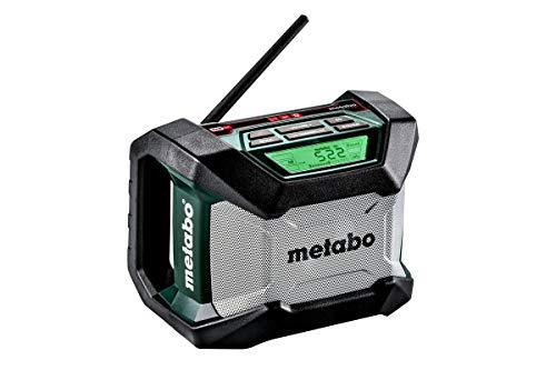 Metabo 600777850 600777850-Radio R 12-18 BT (Bluetooth), 0 W, 1 V, Negro, Size