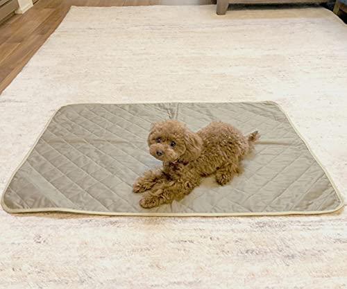 MIMI 洗える 防水 ペットマット 70x100cm 日本製 ペットシート 犬 いぬ かわいい おしゃれ 可愛い シンプル 無地 高級仕立て ミミ ラグ フローリング クッション 介護用品 ケアマット トイレマット ピクニック 防水マット 防止シート 防