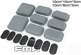 FMA CP Style Helmet Protective Pad Tactical Paintball War-Game High Glutinosity Sticker Helmet Cushion Pad,  Grey