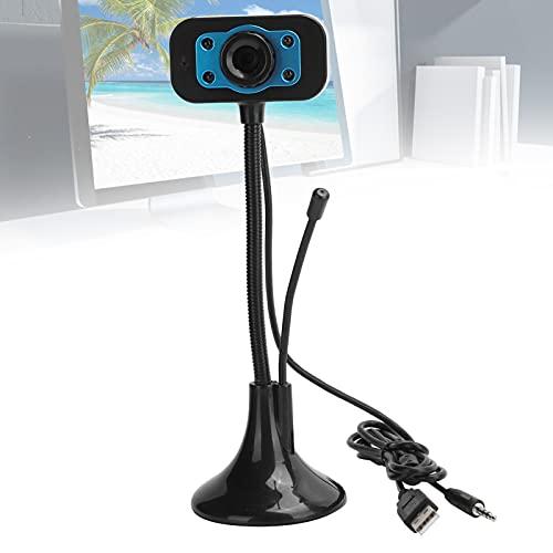 Wosune Cámara, cámara Web Conveniente del USB de 640 x 480 para el hogar para la computadora para el Escritorio