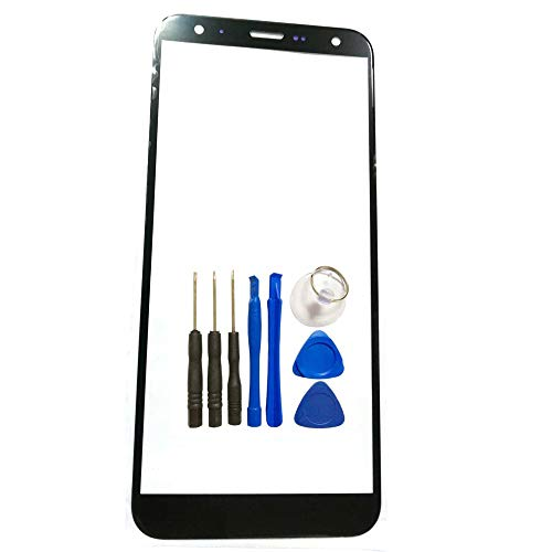 Black Front Screen Outer Glass top Panel Lens Replacement Parts for LG K40 X420 LG K12+ LG K12 Plus LG X4 2019 5.7' LG Xpression Plus 2 LG Harmony 3 (Not LCD &Not Digitizer)