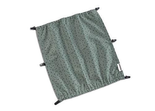 Croozer Sonnenschutz für Kid Vaaya 2 Jungle Green/Black 2020 Fahrradanhänger