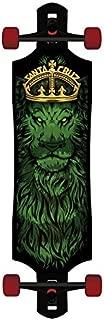 Skateboard Longboard Rasta Lion God Drop Through Cruzer Tie Dye