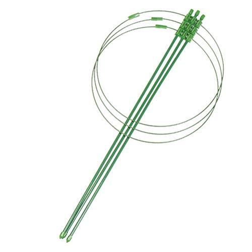 LYDQ Ranken-Gestell für Kletterpflanzen, mit Kunststoff beschichtetes Eisen, für Blumen, Gemüse, dekorative Rankhilfe, extra groß, 60 cm