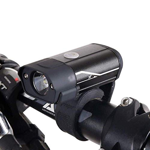 SHRAY Bike LED Headlight USB Charging 5-Speed Glares Warning Light Riding Flashlight Suitable for Outdoor Adventure, Road Cycling, Mountain Cross Country