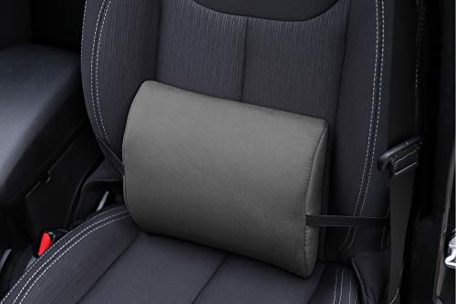 Ergonomisches Rückenkissen für BMW 5-er Serie mit Memory Funktion - Lordosenstütze 1 stück in 6 Farben Alkantra.