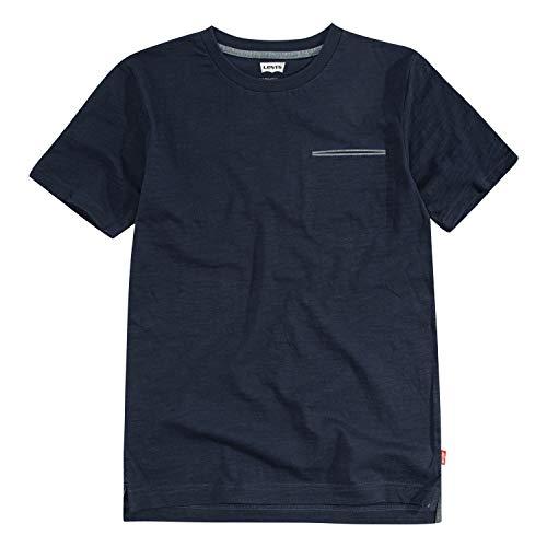 Levi's Big Boys' One Pocket T-Shirt, Dress Blues, S