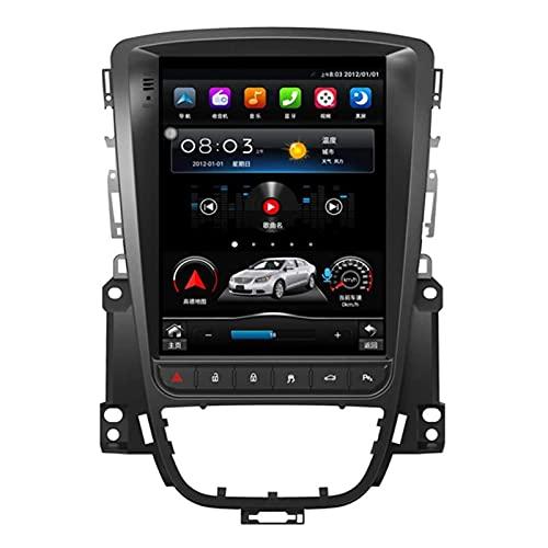 Android 10.0 Radio Automático Double DIN Compatible con Buick Excelle/Opel Astra J 2010-2014 GPS Navigation 9.7 Pulgadas Pantalla Táctil MP5 Multimedia Player Radio Video Receptor 4G WiFi