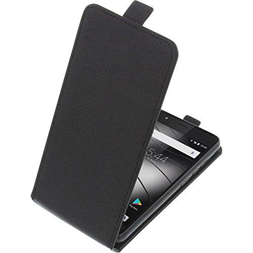 foto-kontor Tasche für Gigaset GS270 / GS270 Plus Smartphone Flipstyle Schutz Hülle schwarz