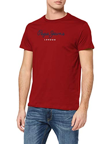 Pepe Jeans Eggo Vaqueros Straight, Rojo (Red 297), Medium para Hombre