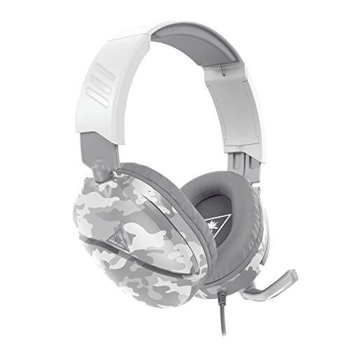Turtle Beach Recon 70 Camo – Polarweiß Gaming-Headset - PS5PS4Xbox Series X|Sxbox One und Nintendo Switch [