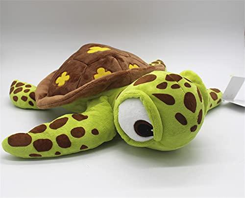 beibeiwang Buscando a Nemo Crush Juguetes de Peluche Squirt Juguete de Peluche Tortuga Verde de Peluche para niños Juguete 40cm Regalos de cumpleaños de Navidad para niños