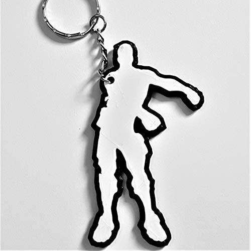 Schlüsselanhänger mit Tänzermotiv, inspiriert von Online-Gaming Xbox, Playstation und PC