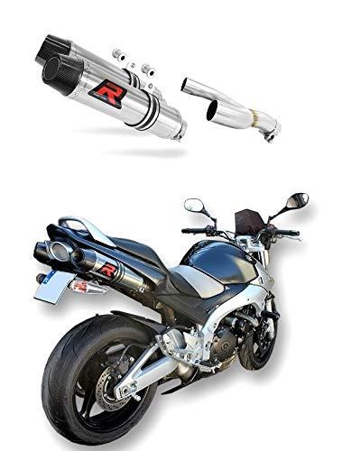 GSR 600 Escape Moto Deportivo HP3 Carbon Silenciador Dominator Exhaust Racing Slip-on 2006 2007 2008 2009 2010 2011