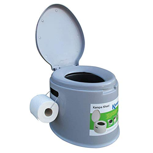 Kampa Poo - Mobile tragbare WC Camping Toilette - Reise Klo