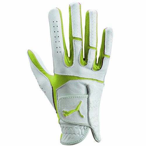 Puma Flexlite Performance Right Hand Glove, Large, Sunny Lime