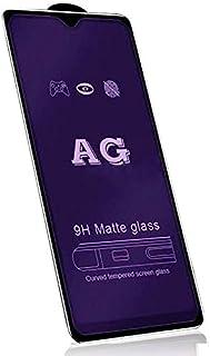 شاشة حماية منحنية AG بدرجة صلابة 9 مضادة للخدش من الزجاج الازرق المط لنوكيا 7.2/ 6.2- اسود