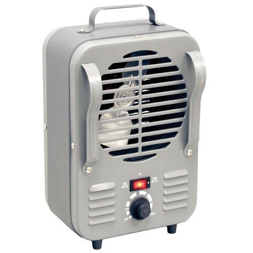 Homebasix LH872 Mini Milk House Heater, 750/1500-watt