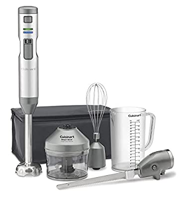 Cuisinart CSB-300 Rechargeable Hand Blender with Electric Knife, One Size, DAA