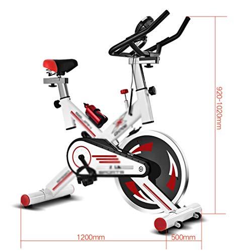 XP Abnehmen Fahrrad, Haushalt Fitnessgeräte Mute Heimtrainer Indoor-Bewegung Abnehmen Body Sculpting Spinning Bike,Schwarz