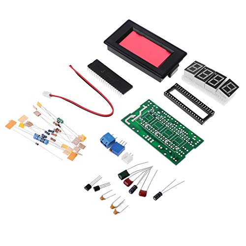 BIlinli ICL7107 Digital Amperemeter Kit DIY Modul DC 5 V 35 mA 70,6x39 mm DIY Kits Amp Strommesser