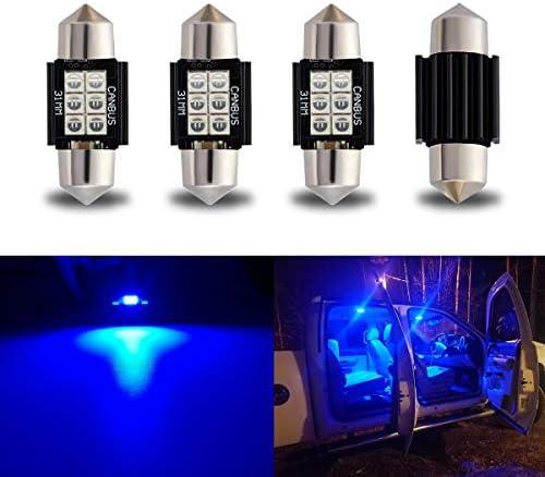 iBrightstar Newest 9 30V Extremely Bright DE3175 DE3021 Festoon Error Free 1 25 31mm LED Bulb product image