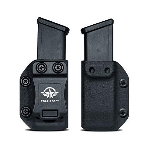 IWB/OWB Glock Magazine Holster Kydex - Glock Mag Carrier -...