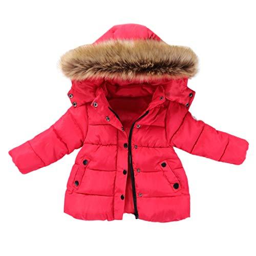 sunnymi Mäntel für Baby Jungen und Mädchen,0-5 Jahre Winterkind Kinder Einfarbige Hoodie Reißverschlussmäntel Halten Warme Kinderjacke Winterjacke Wintermantel Kinder Kleidung Outfits