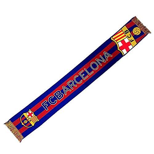 Écharpe F.C. Barcelone grand bouclier métier à tisser [AB220