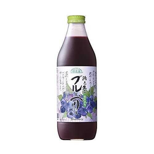 順造選 ブルーベリー(果汁50%ブルーベリージュース)1000ml×3本入