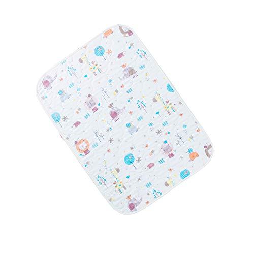 GESS Newborn baby waterdichte anti-urine pad, katoen ademende zorg matras, huidvriendelijke ademende deeltjes anti-slip
