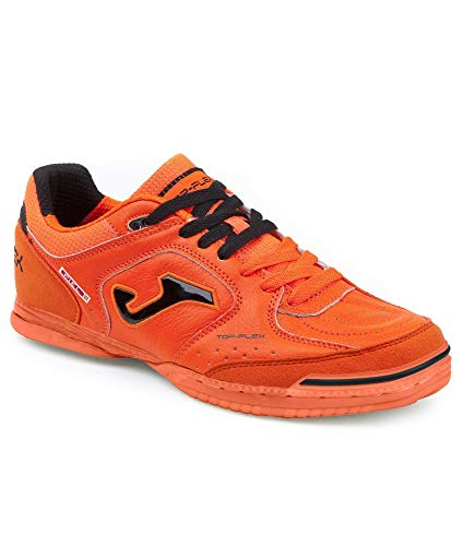 Joma - Chaussures de Futsal Orange Fluo Top Flex in Couleur - Orange, Pointure - 43