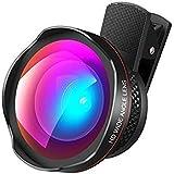 NTC Clip Universale 4 in 1 Obiettivo Fotocamera del Telefono Kit-Fish Eye Lens/2 in 1 Obie...