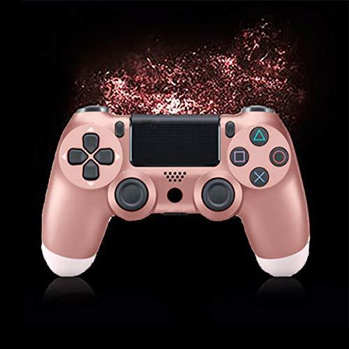 HALASHAO PS4 regulador, reguladores inalámbricos compatibles con PS4 / PC/Vapor, Playstation 4 de Seis Ejes Dual Shock Gamepad con LED Barra de luz y el Panel táctil
