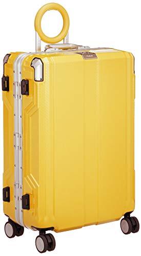 [レジェンドウォーカー] スーツケース 不可 保証付 65L 62 cm 5.3kg イエロー