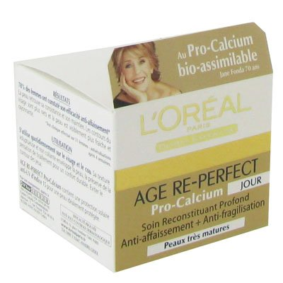 L 'Oréal – Cuidado de día reconstituant profundo anti-affaissement + anti-fragilisation Age Re Perfect Pro-Calcium – 50 ml