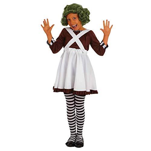 Fun Shack Trabajadora de la Fábrica Niña, Disfraz Halloween Niña Disponible En Talla S