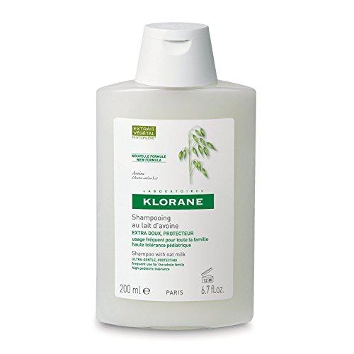 Klorane Hafermilch-Shampoo, 200 ml.