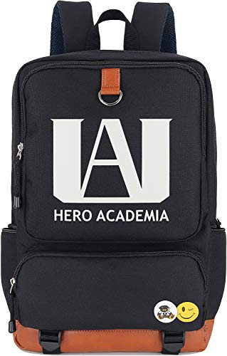 Roffatide Anime My Hero Academia Luminous Backpack Cosplay Laptop Bag College School Bag