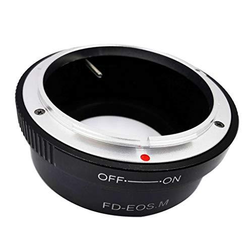 D DOLITY FD EOS Anillo Adaptador de Conector para Objetivos Canon FD Lente para EOS Mount Objetivos