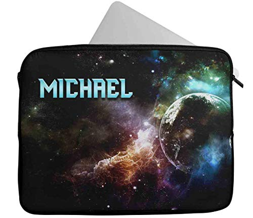 Personalised Any Name Generic Design Laptop Case Sleeve Tablet Bag Chromebook Gift 39 (9-10 inch)