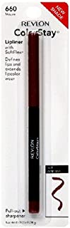 Revlon ColorStay Lipliner with SoftFlex, Mauve 660, 0.01 Ounce