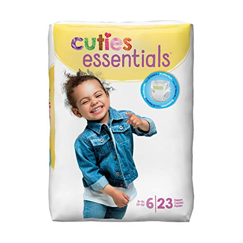 Cuties Premium Baby Diapers, taille 6, Pk/23 by Cuties