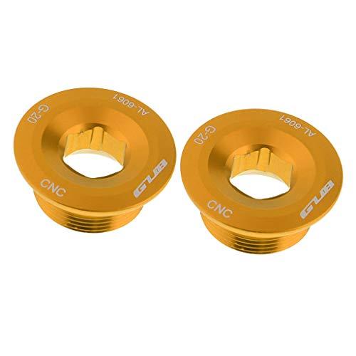 perfeclan 2X Tornillo del Brazo del Juego de Bielas del de Fijación Roscas M20 para Shimano 590596
