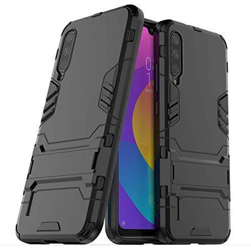 """Max Power Digital Funda para Xiaomi Mi A3 (6.08"""") con Soporte - Carcasa Híbrida Antigolpes Resistente (Xiaomi Mi A3, Negro)"""
