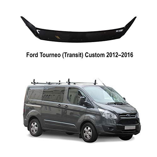 A-Technic Haubenabweiser für Ford Tourneo (Transit) Custom 2012-2016 (Classic Black)