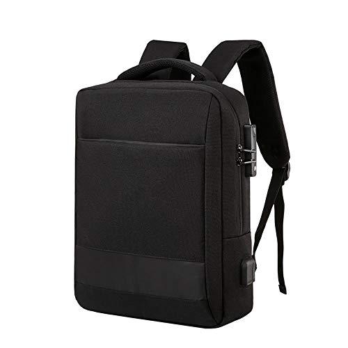 Business Backpack Backpack Multi-Functional Anti-Theft Computer Backpack Shoulder Bag Schoolbag,Black,15-Inch